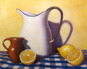 White Jug - oil
